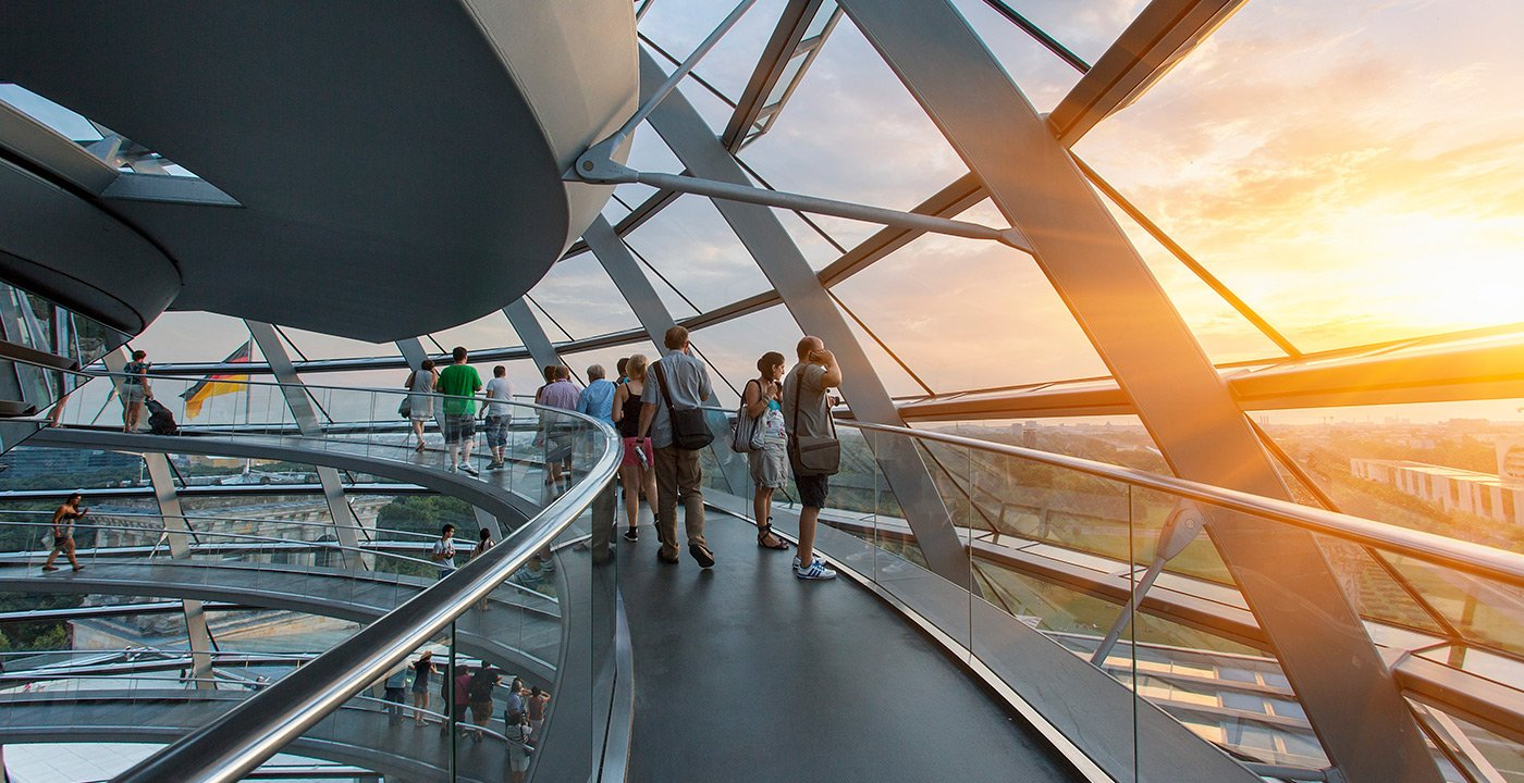 See the City From the Reichstag's Glass Dome