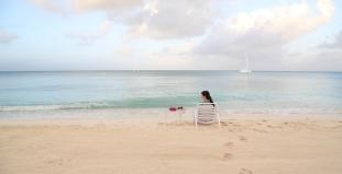 Beach in Grand Cayman