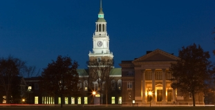 Webster Hall at Dartmouth College