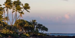 Hawaii Big Island at Dusk