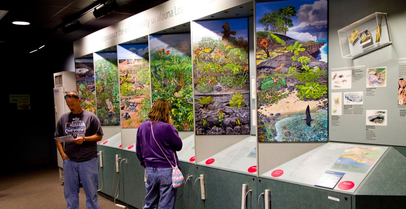 History and Science: Kilauea Visitor Center