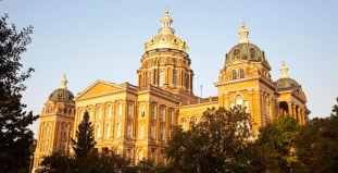 Des Moines State Capitol