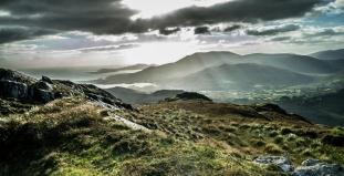 County Cork Mountain