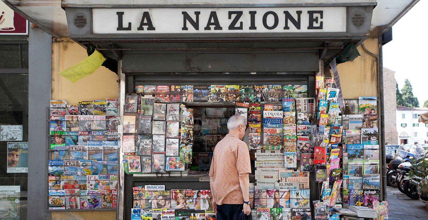 Pick Up a Copy of The Florentine