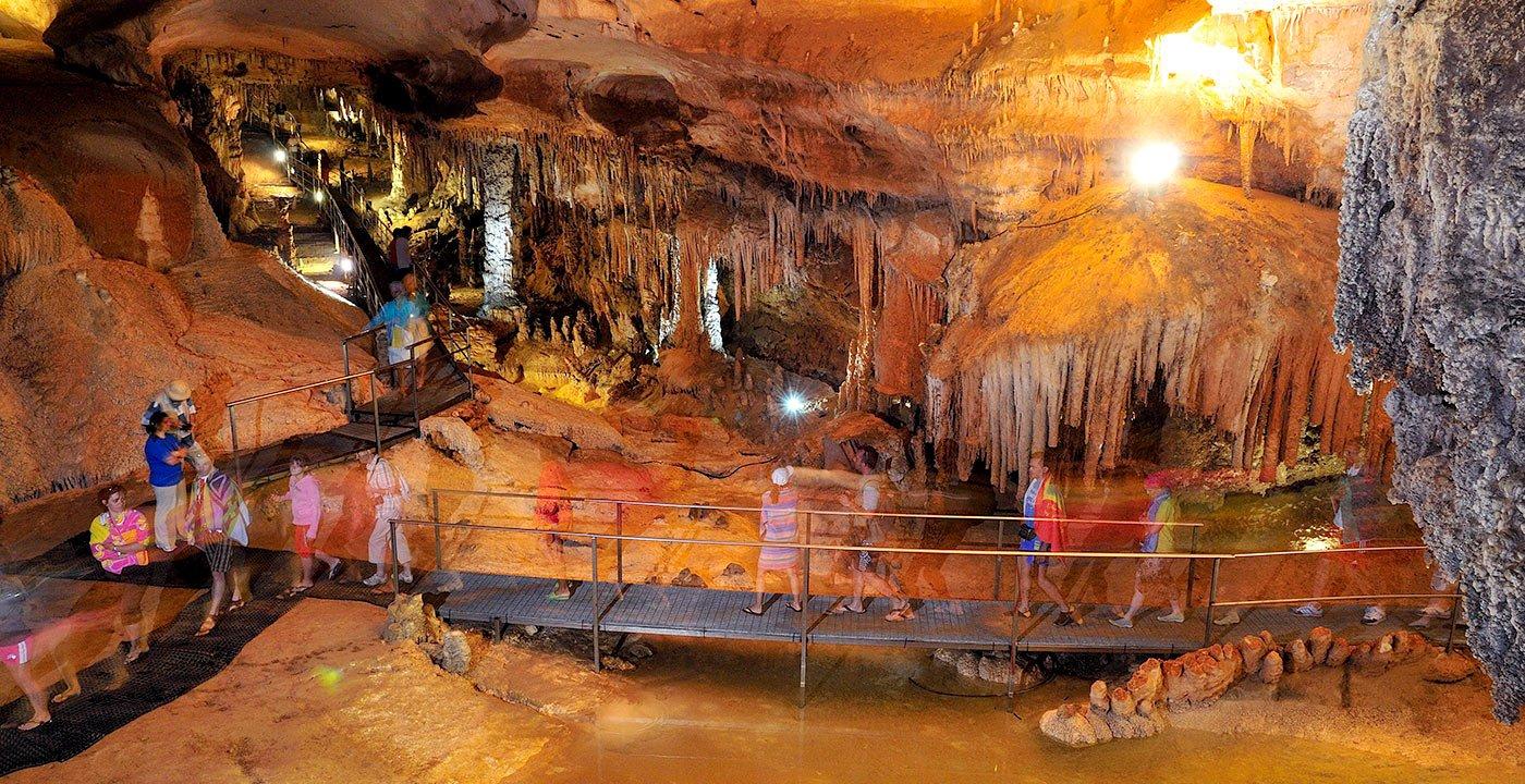 Explore the Grotta del Fico