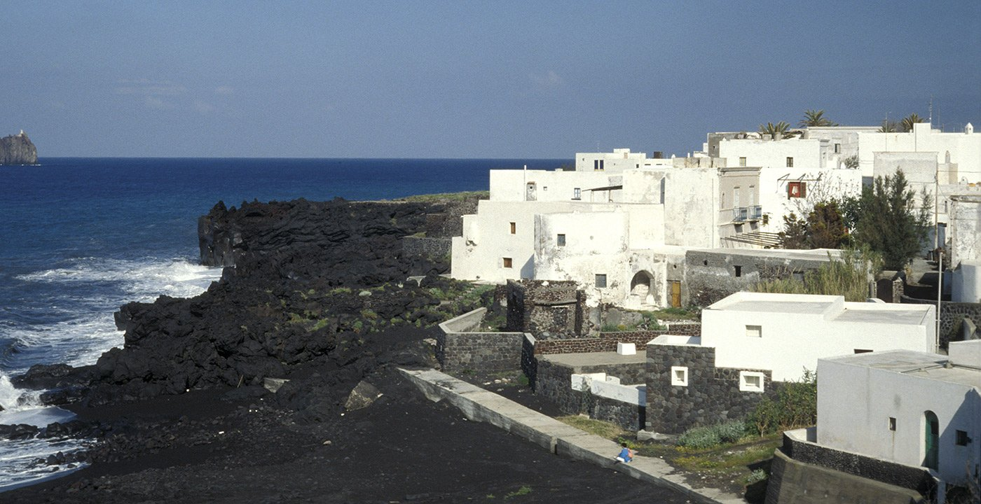 Black Sand Beaches of the Aeolian Islands
