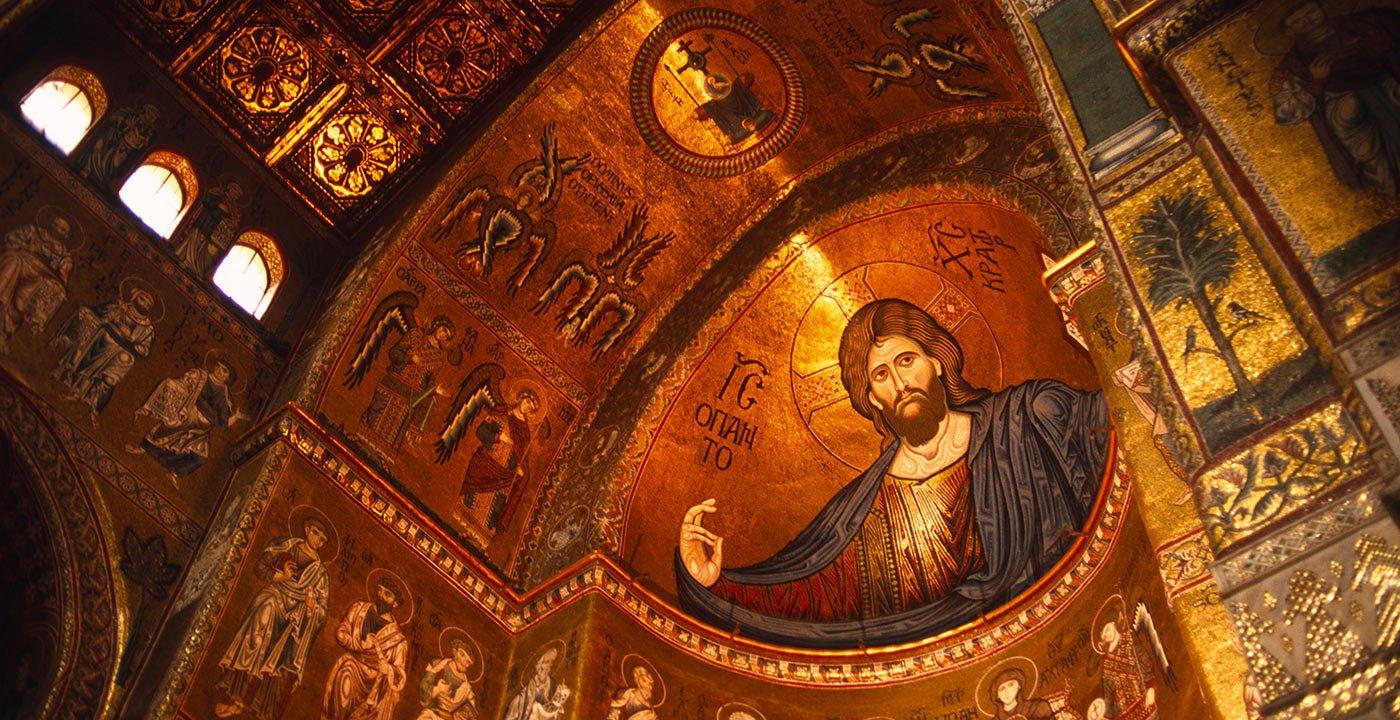 Monreale's Glittering Gold Mosaics