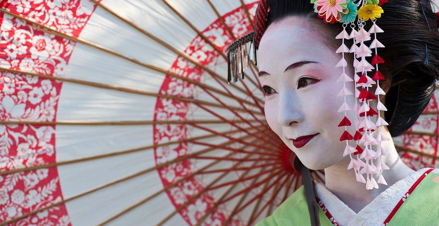 Glimpse a Geisha