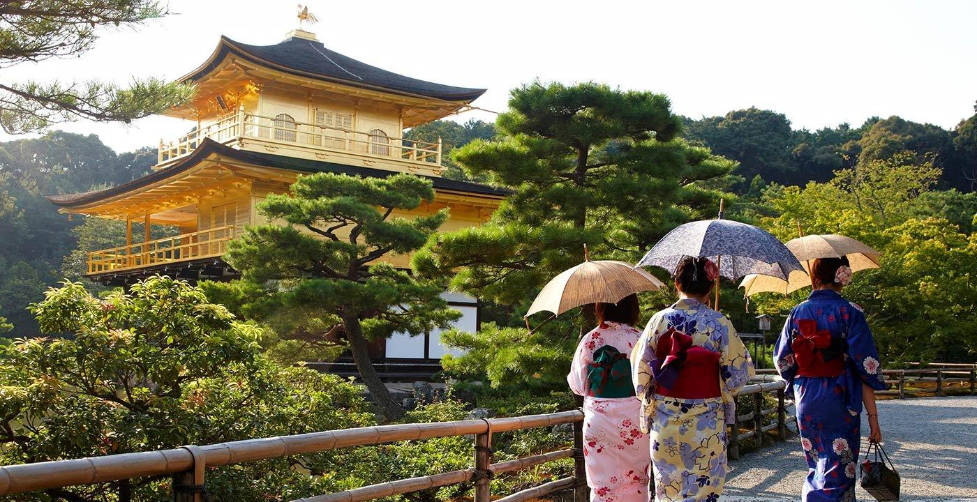 Kyoto's Tourist Gold