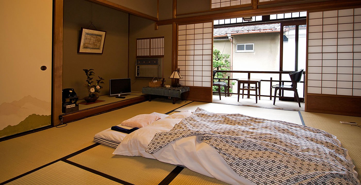 Rest in a Ryokan