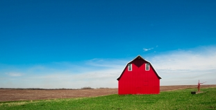 Red Barn in Atchison