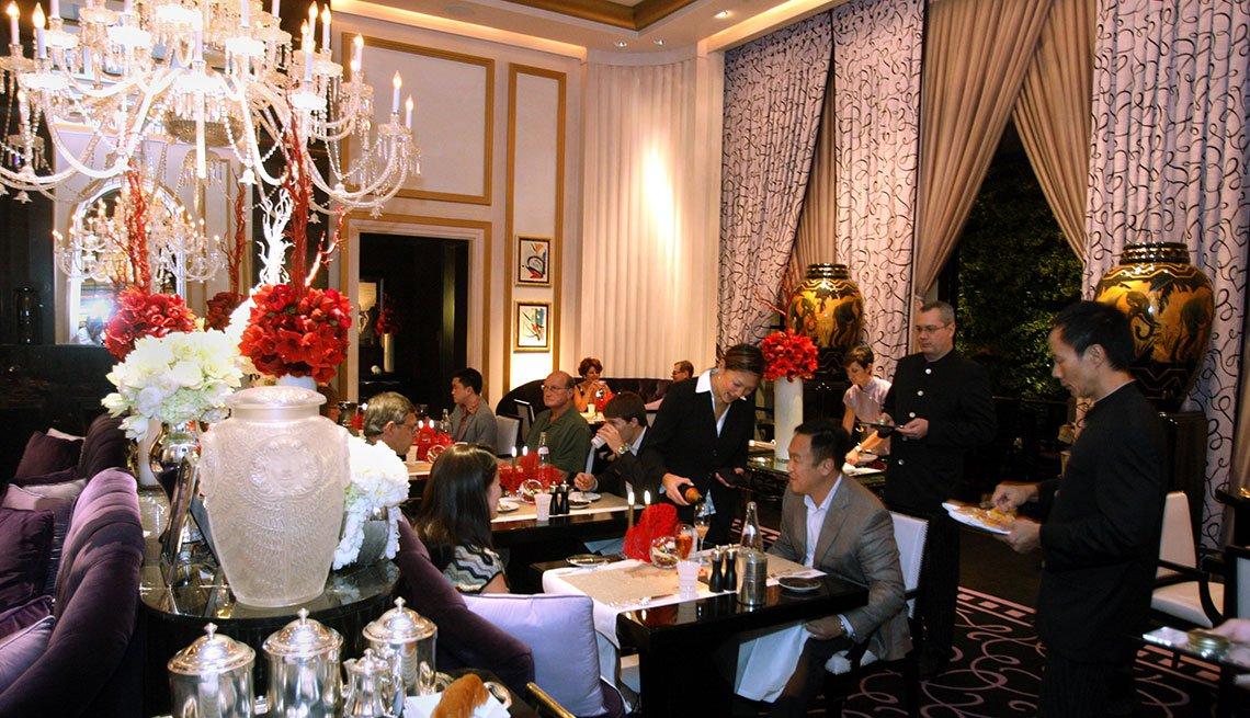 item 10 of Gallery image - Restaurante Joel Robuchon en el hotel MGM Grand.