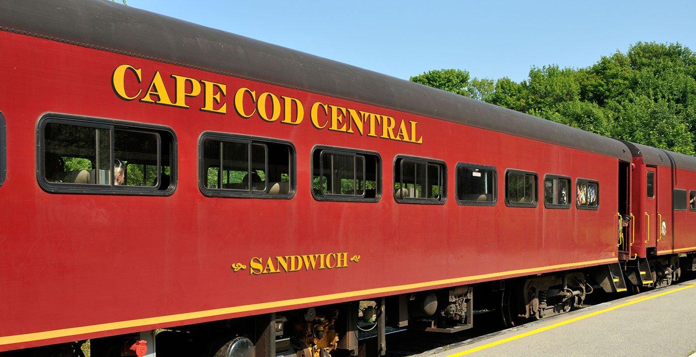 Hop on the Cape Cod Central Railroad (MA)