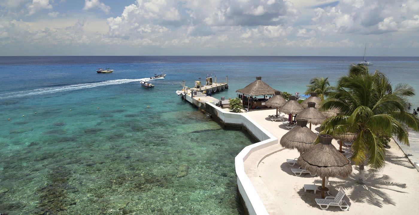 Resort in Cozumel Beach