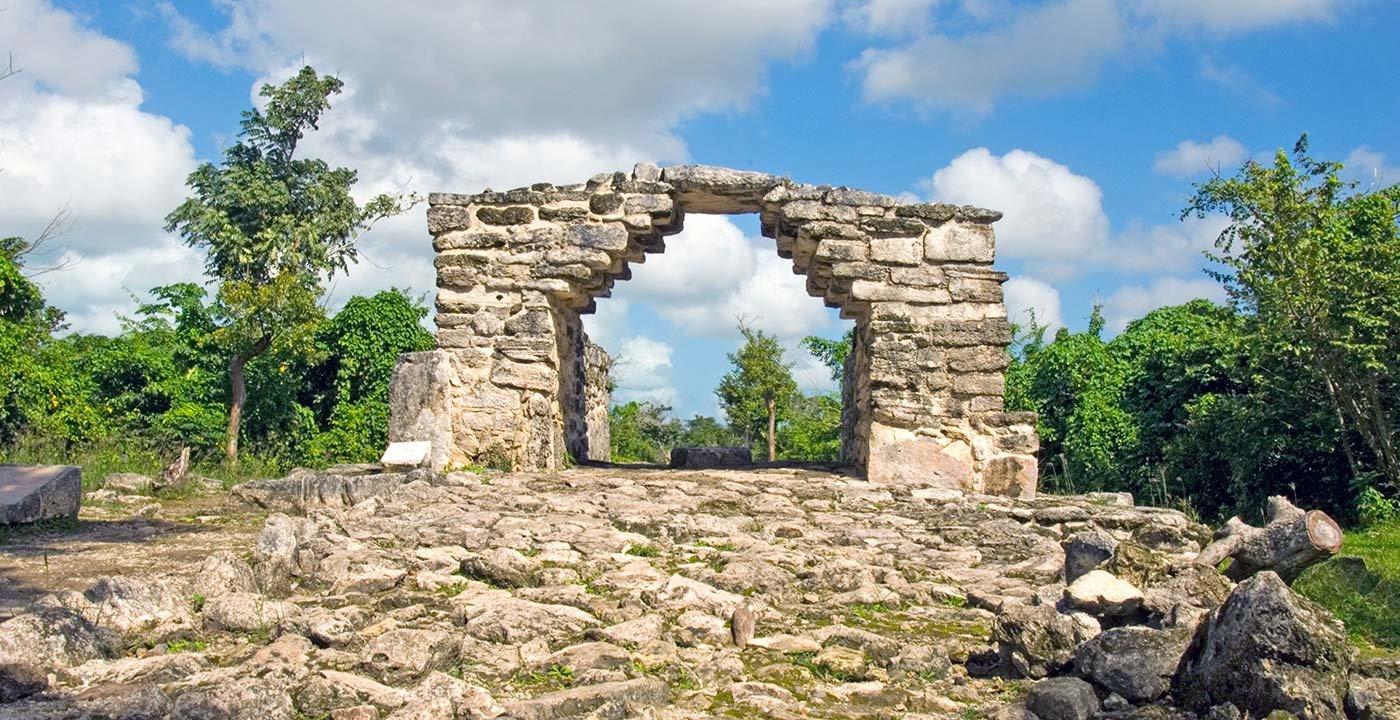 Mayan History at the San Gervasio Ruins