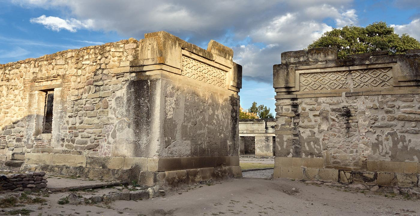 Stunning Ornamental Art at the Ruins of Mitla