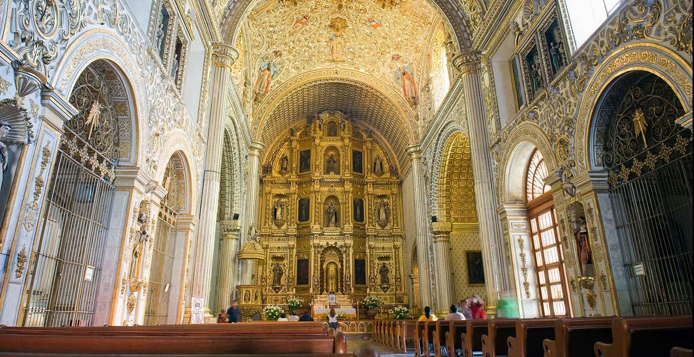 Santo Domingo Church: A Baroque Masterpiece