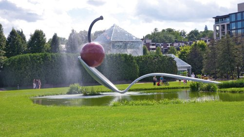 Visit the Minneapolis Sculpture Garden Year-Round