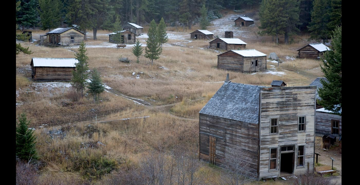 Boom Turned to Bust at Garnet Ghost Town
