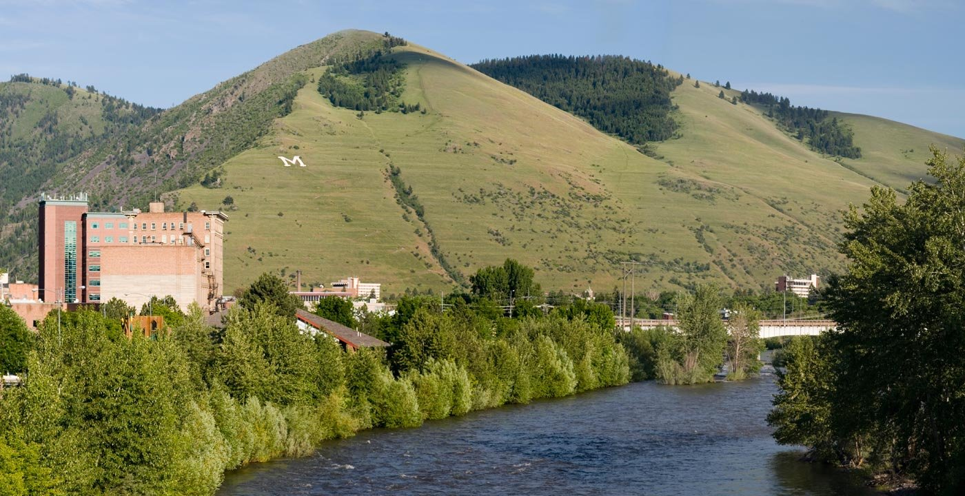 The Clark Fork Runs Through Missoula's Heart