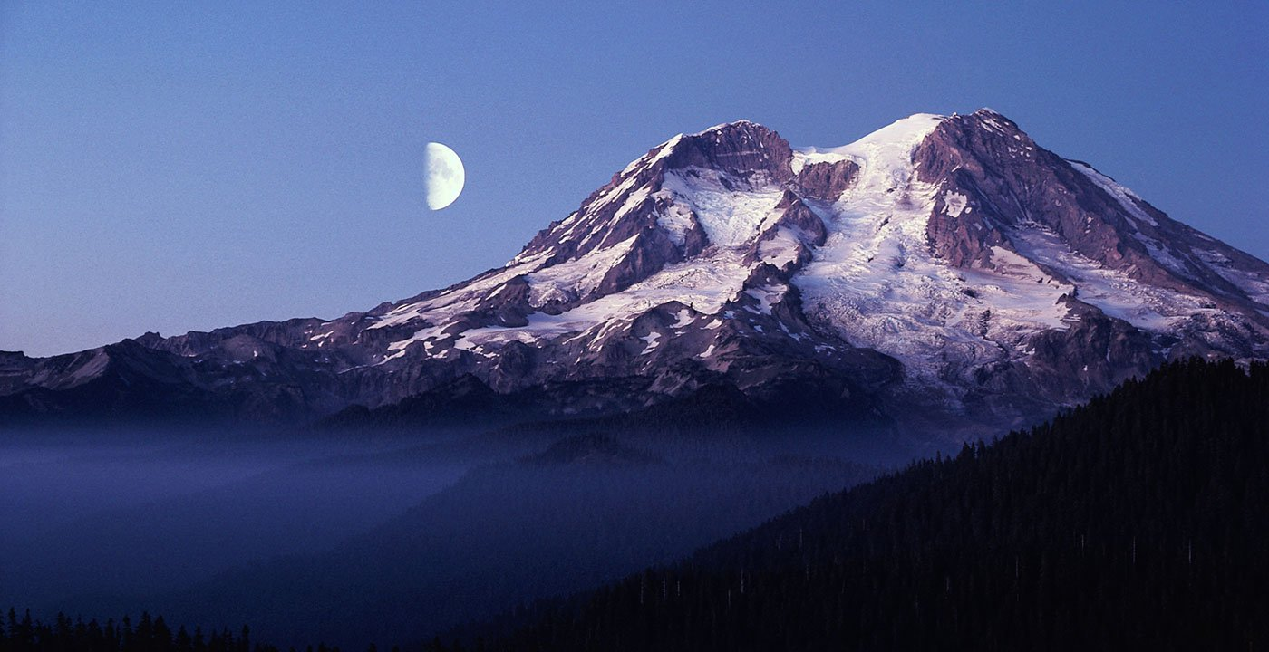 Mount Rainier Tour Map