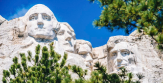 Mount Rushmore and the Black Hills, SD