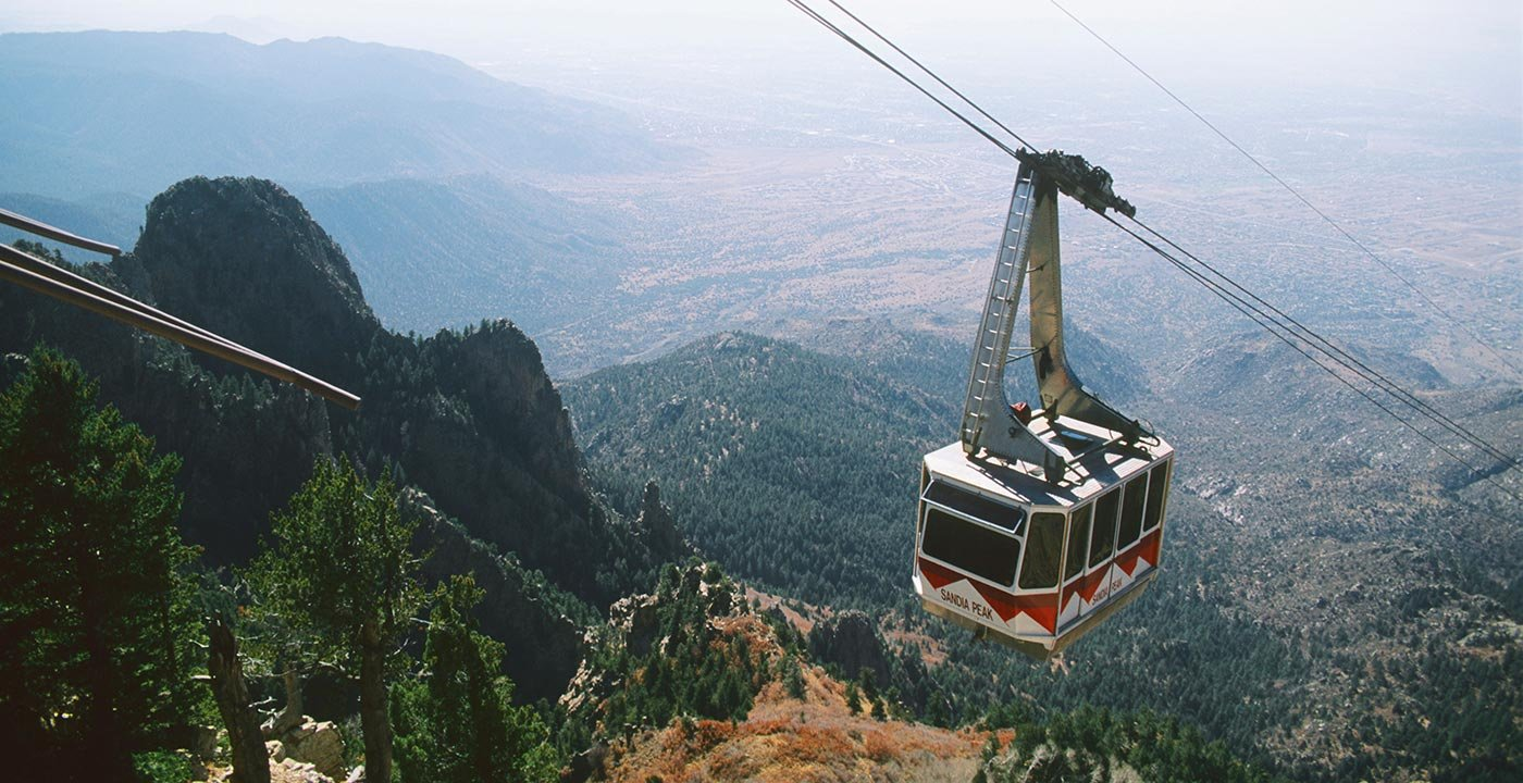Rise Into the Sky on the Sandia Peak Tramway