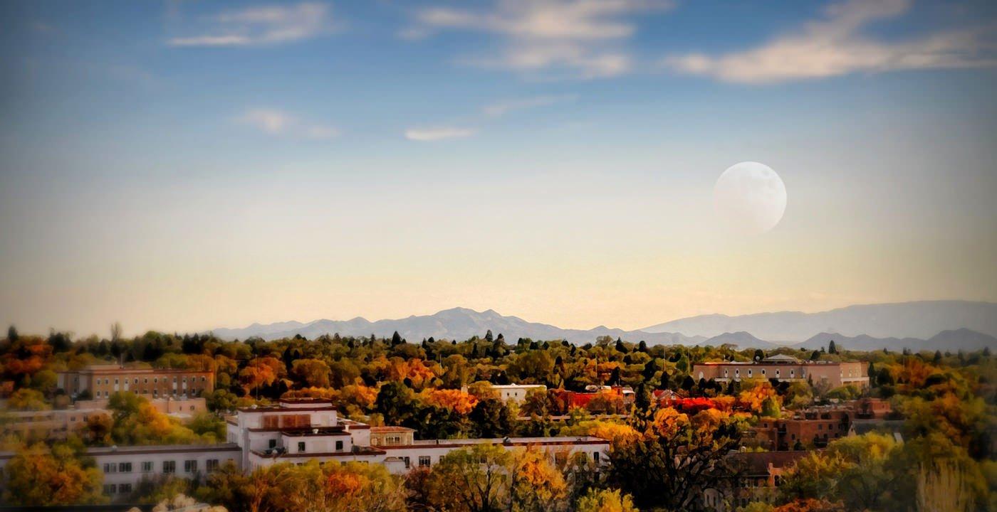 Aerial View of Santa Fe