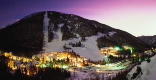 Taos Ski Valley at Night