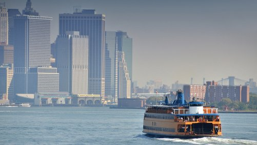 Take a Ride On the Staten Island Ferry