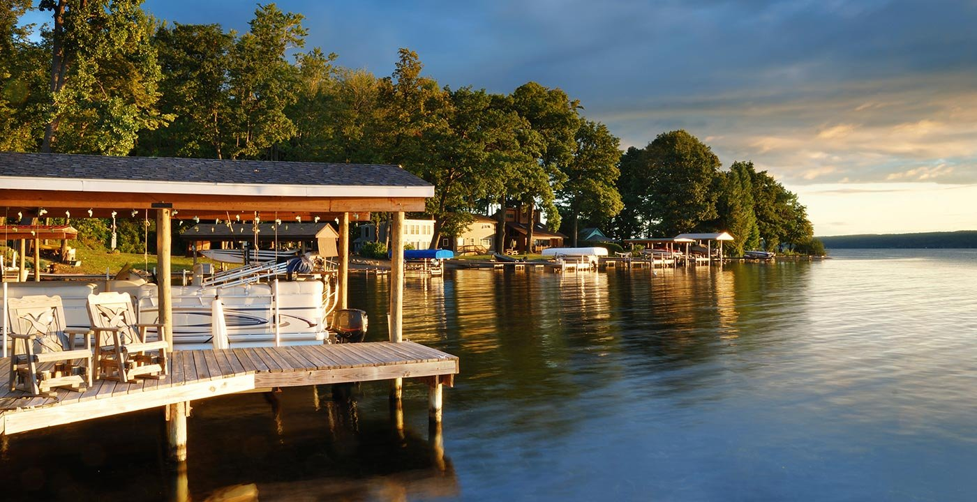 Lake House in the Finger Lakes