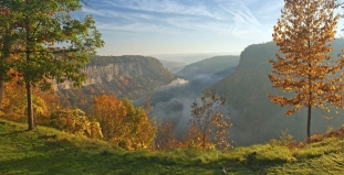 Sunrise at Great Bend Overlook