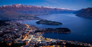 Bird's Eye View of Queenstown