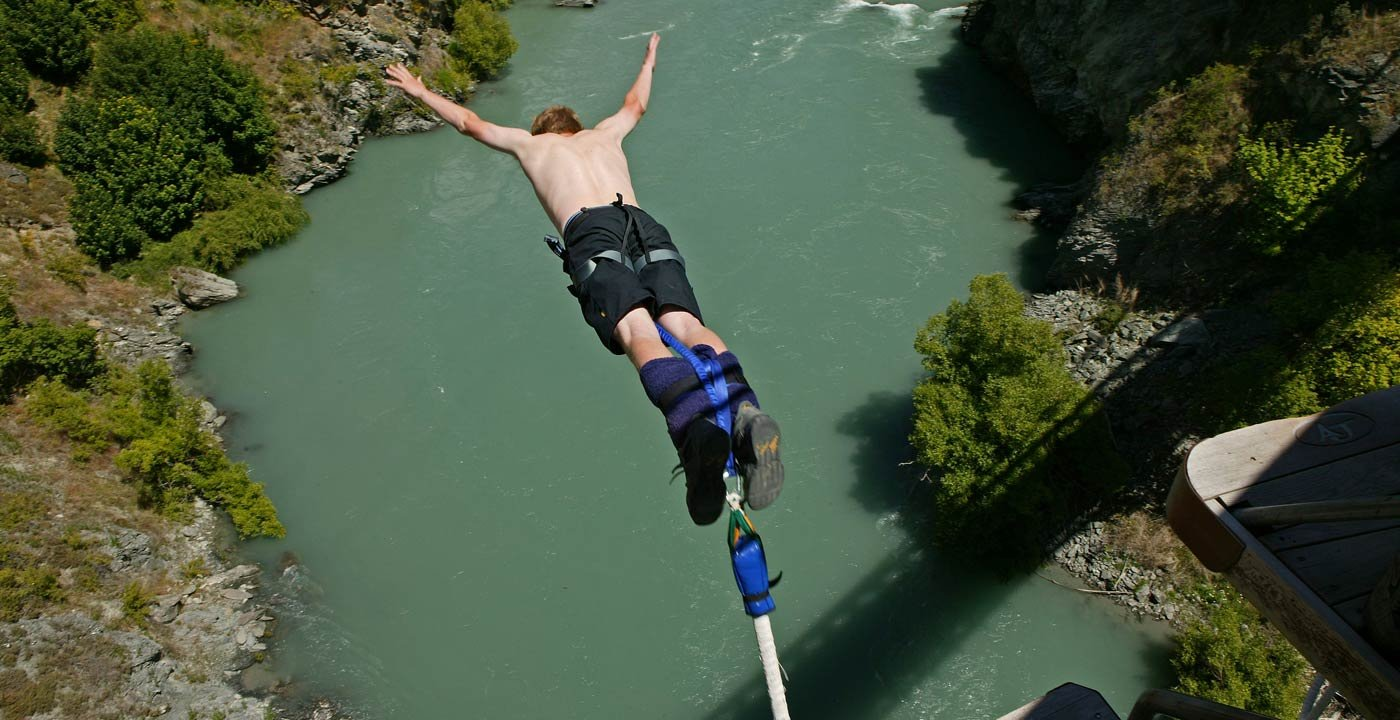 Bungee Jumping Began Here in 1988