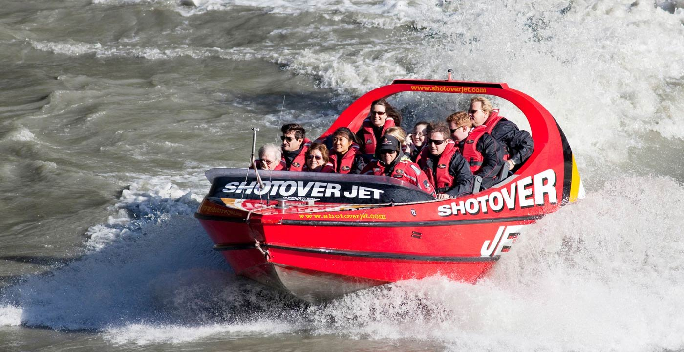 Jet Boat the Shotover River Canyons