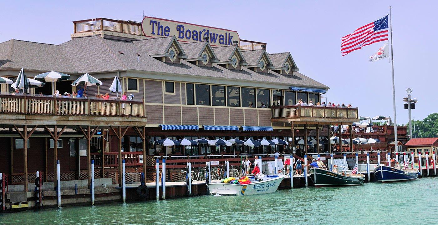 Restaurants at The Boardwalk