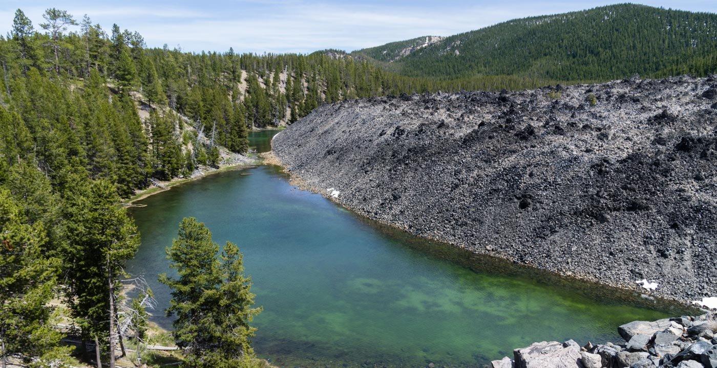 Bizarre Landscape Built by Ancient Volcanoes