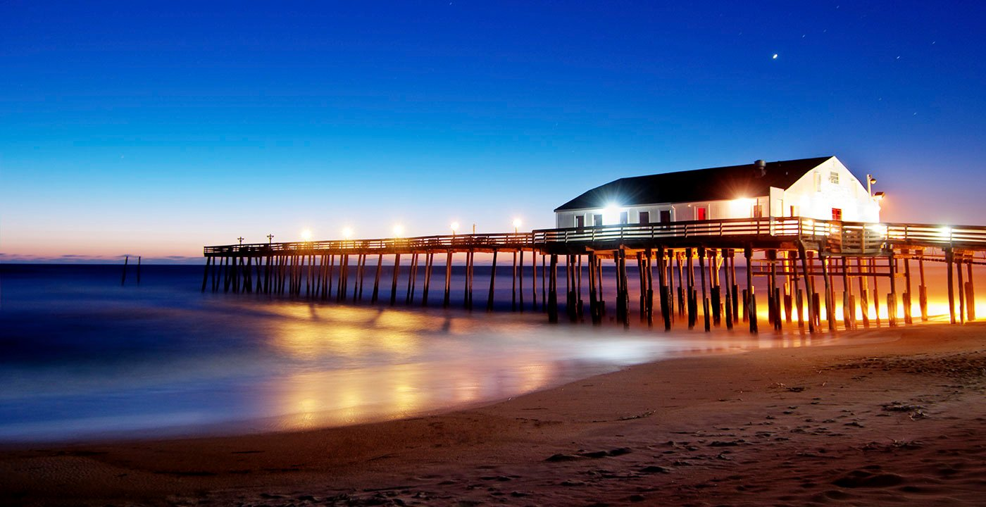 Pier in the Outer Banks