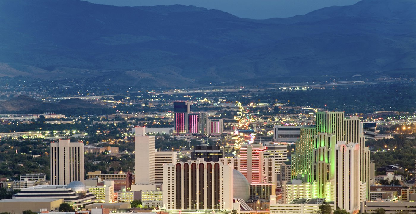 Aerial View of Reno