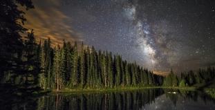 Nightfall in Rocky Mountain National Park