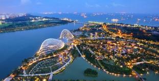 Bird's Eye View of Singapore
