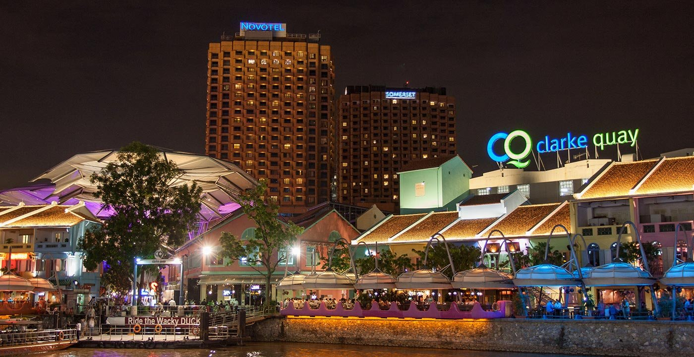 Clarke Quay Nightlight District