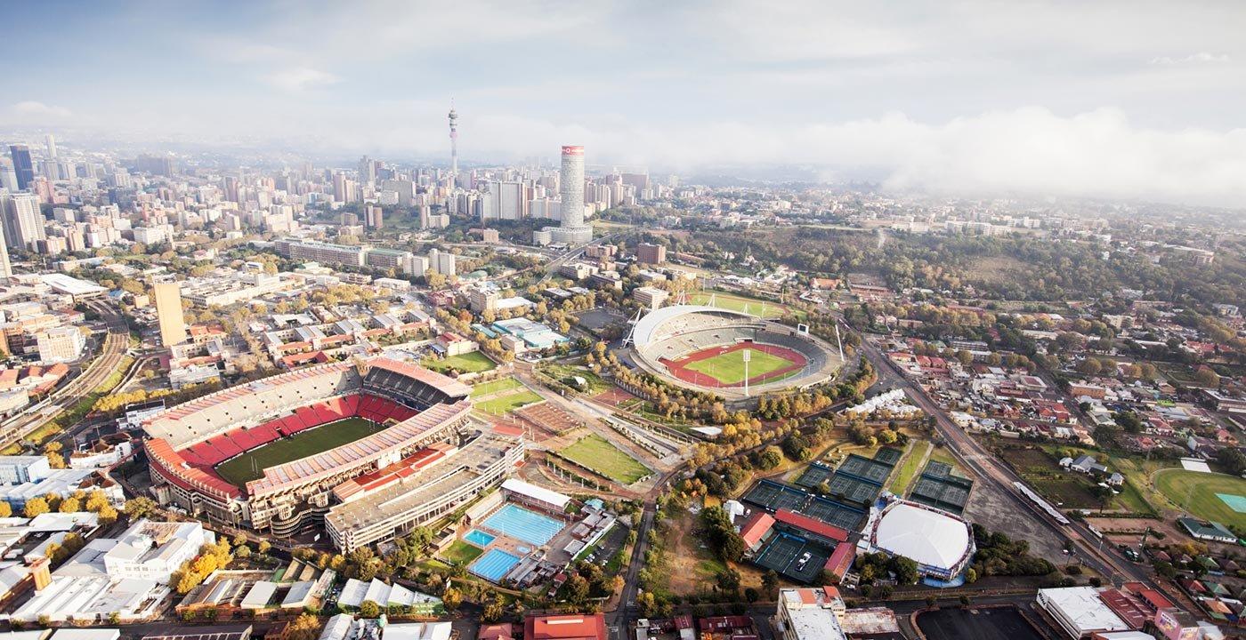 Johannesburg Stadiums