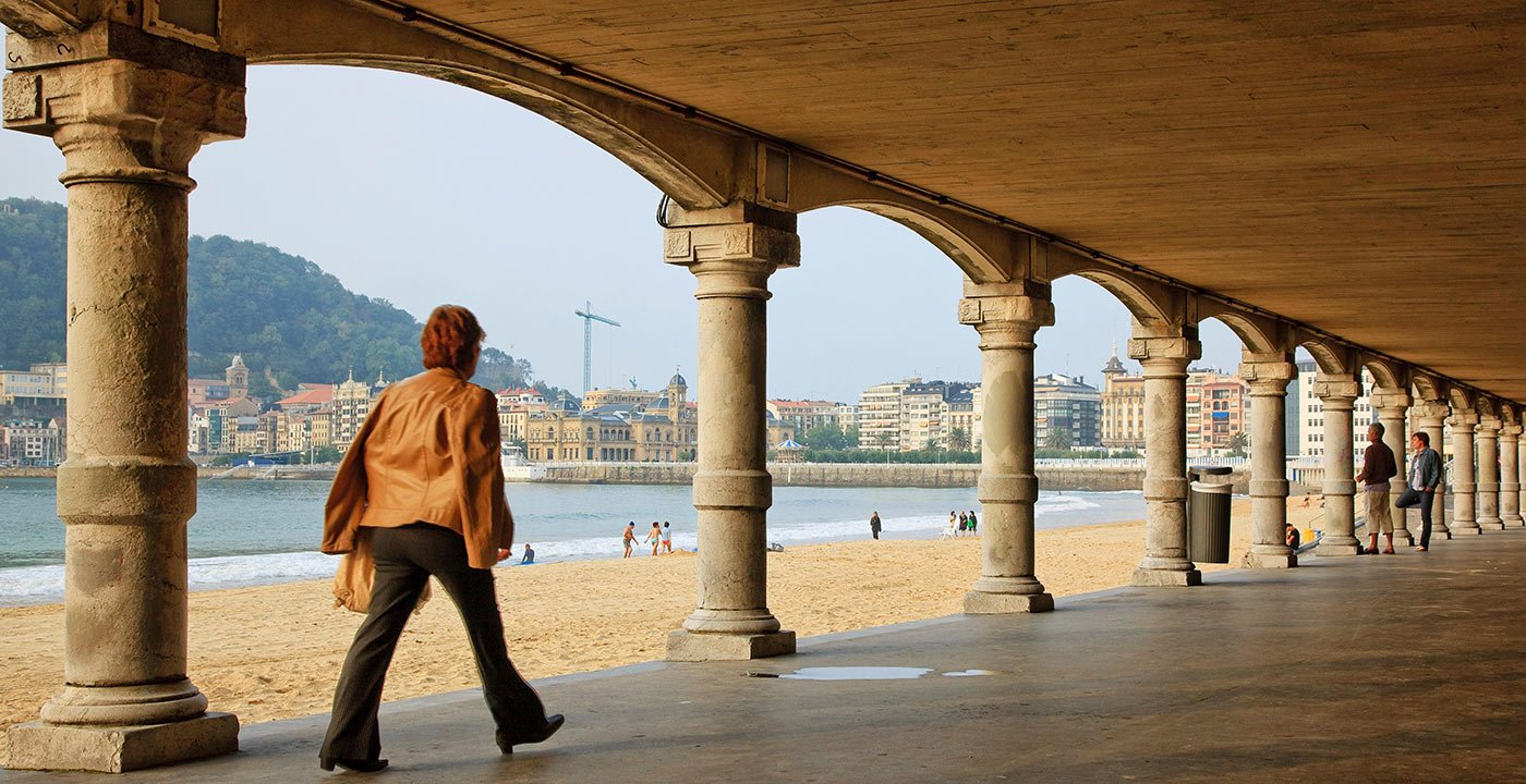 Stroll the Promenade at San Sebastián