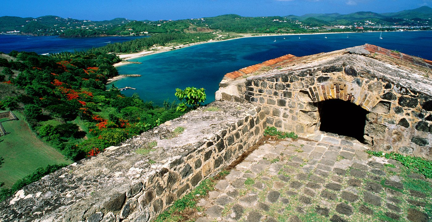 Pigeon Island Combines History and Scenery