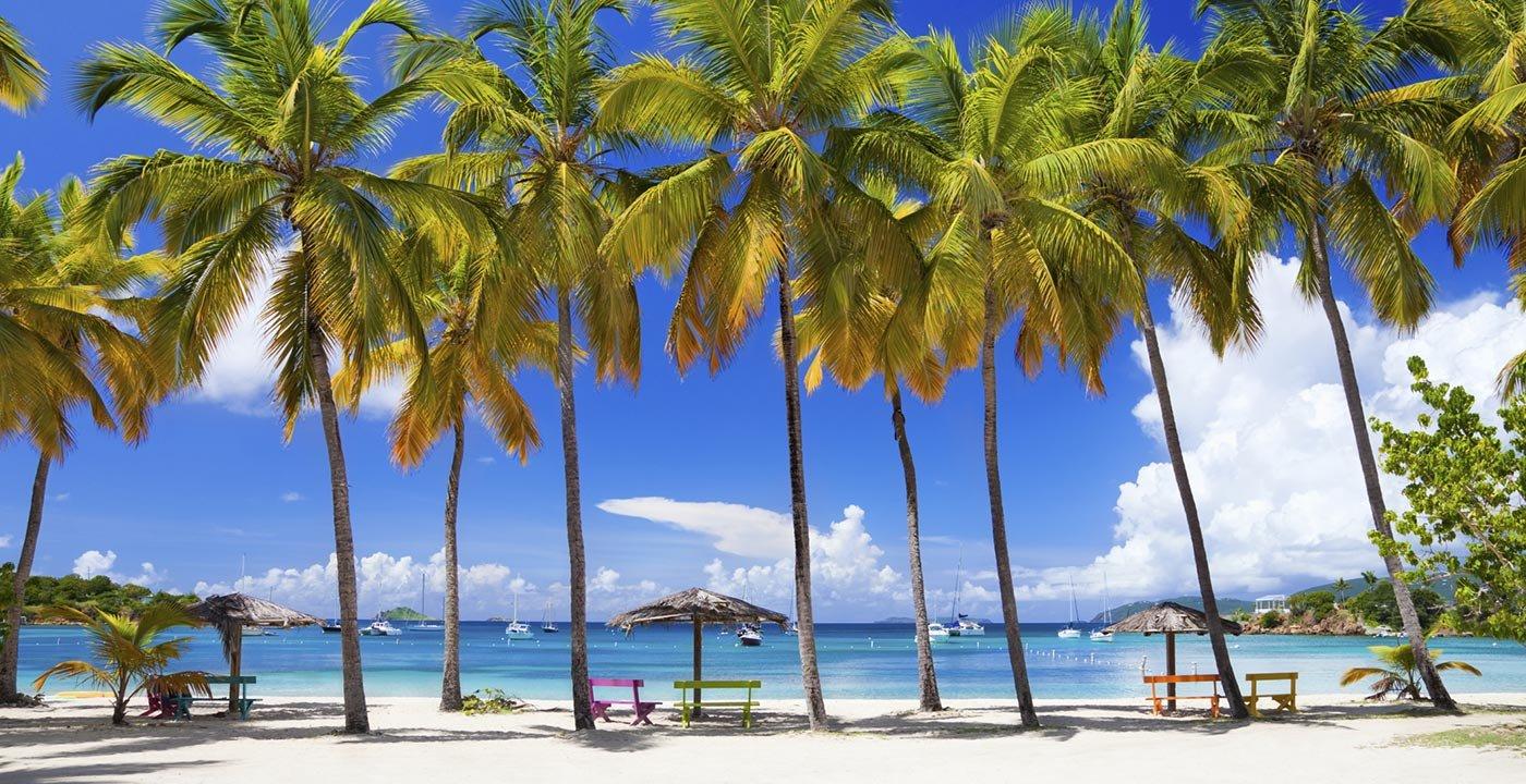 Beach in St. Thomas