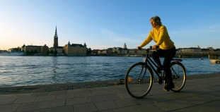 Cycling in Stockholm