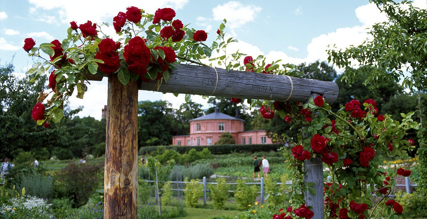 The Garden of Rosendal Stockholm Sweden