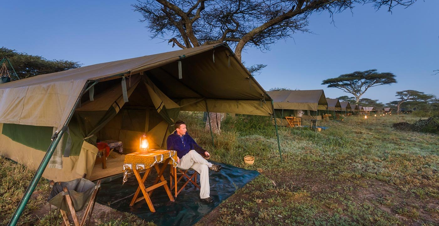 Stay in a Tented Camp