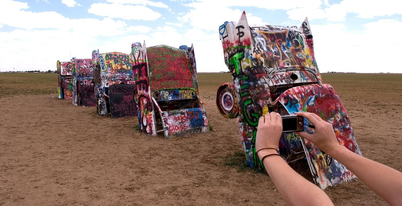 You Ain't Seen Nothing Like Cadillac Ranch